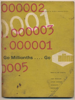 1977 Alina Measuring Instruments Tool Catalog #IN-200-4